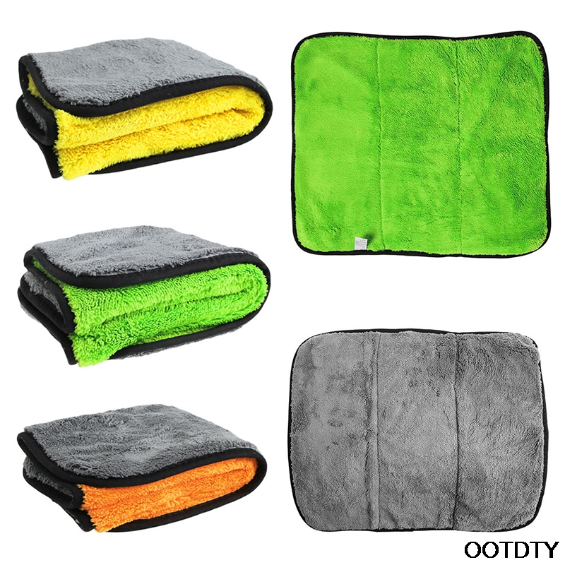 45x38cm Microfiber Glass Cloth Detailing Towels Car Cleaning Cloths Windshield Car Care Cloths Lint Free Super Thick Wax