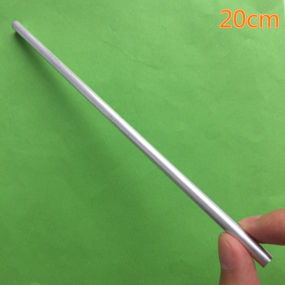 20cm K796 Aluminum Pipe Out Diameter 6mm Inner Diameter 4mm Hollow Circular Tube For DIY Model Making