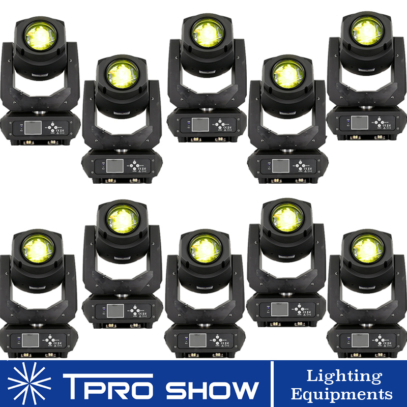 200W LED Lyre Moving Head Beam Spot Wash Stage Light Dmx Disco Party Night Club Lights Wholesale Prism DJ LED Beam 6/8/10pieces
