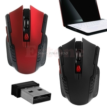 2.4GHz 2400DPI Wireless Gaming Mouse Mice+USB Receiver For PC Laptop Desktop HOT #R179T#Drop Shipping