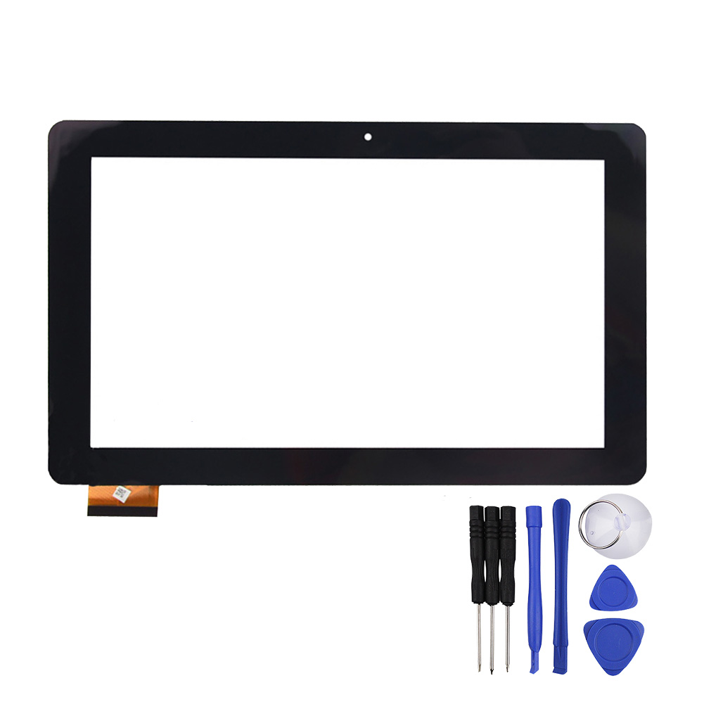 New 10.1Inch Black for iGet SMART S100 Tablet Touch Screen Digitizer Panel Sensor Glass Replacement  Free Shipping replacement touch screen digitizer glass for lg p970 black