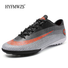 6100eda68 HYFMWZS Big Size 3.5-9 Krasovki High Quality TF Kids Soccer Shoes Mens  Football Boots