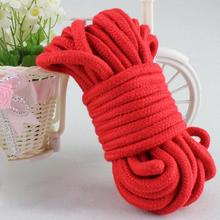 10M sex rope bondage toys provocative alternative supplies of cotton rope tied comfortableand harmless sex for