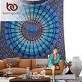 BeddingOutlet Vanitas Marroquí Mandala Tapiz Indio Impreso Decorativo Tapices De Pared Blanca 140x210 cm Envío de La Gota