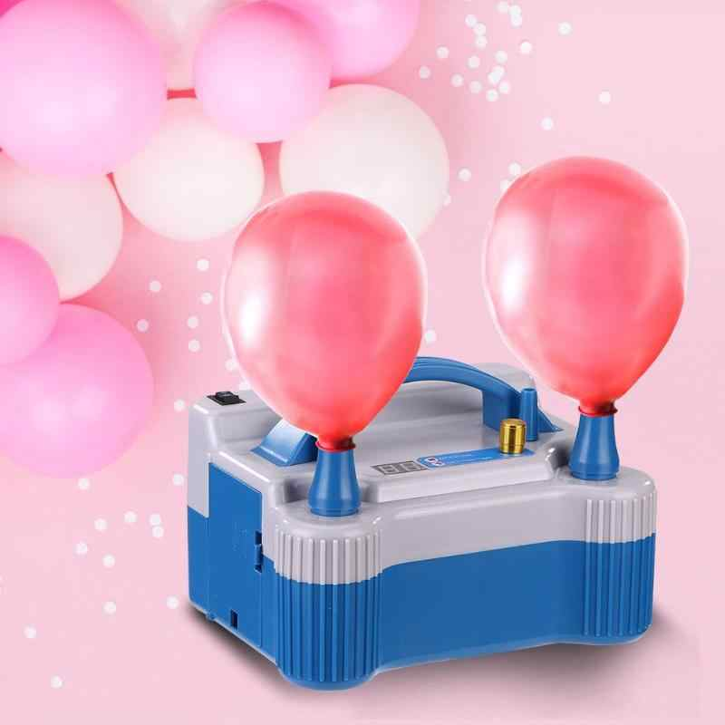 2019 Inflatable Electric Balloon High Voltage Double Hole  Pump Air Balloon Pump Portable Air Blower Household  Air Machine