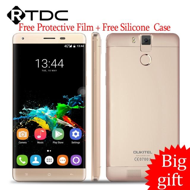"In Stock Original Oukitel K6000 Pro 4G LTE Mobile Phone Octa Core 5.5""FHD 1920x1080 3GB RAM 32GB ROM 13.0MP Fingerprint 6000mAh"