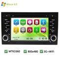 MTK Pantalla MT3360 Mueca de Dolor 6.0 Del Coche DVD Multimedia Player Radio Stereo PC GPS soporte 3G WIFI Para AUDI A4 S4 RS4 8E 8F B7 B9 RNS-E