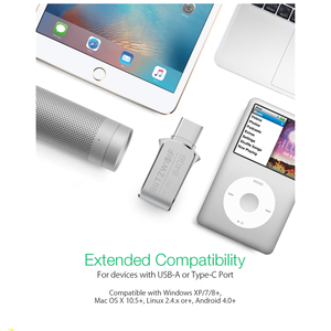 Image 5 - BlitzWolf BW UPC1 2 in 1 typ C USB 3.0 ze stopu Aluminium ze stopu Aluminium 16GB 32GB 64GB OTG dysk Flash USB dysk zewnętrzny