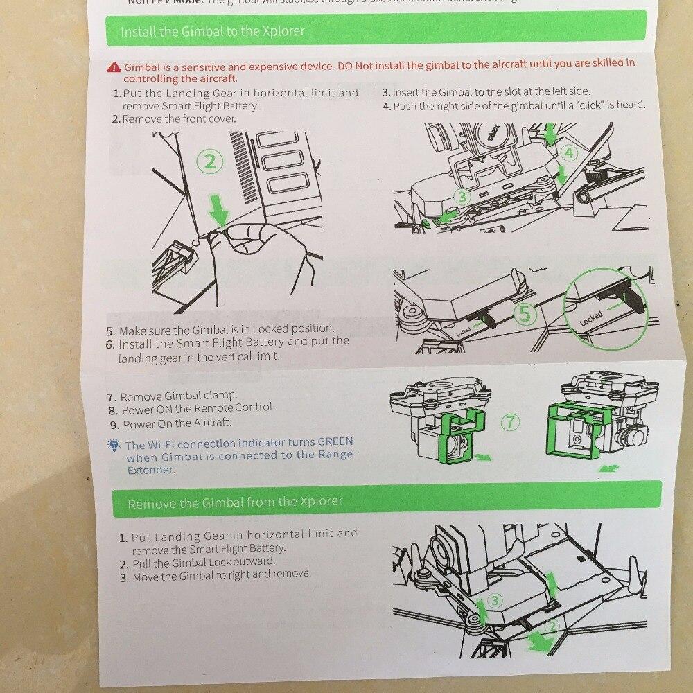 hight resolution of original xiro xplorer v kit gimbal range extender kit for xiro fpv camera drone recorder txsu in parts accessories from toys hobbies on aliexpress com
