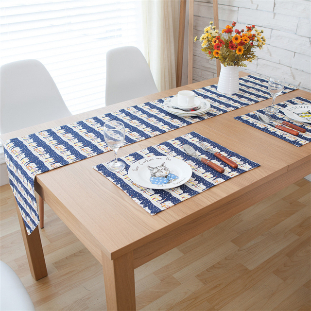 Table Runner Wedding Decoration Fabric For Sewing Modern Table Runner Flax  Flag Christmas Tablecloth Decorations Runner
