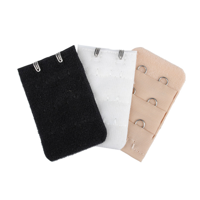 3 Pcs Bra Extension Strap Extender Replacement With 2 Hooks KS-shipping