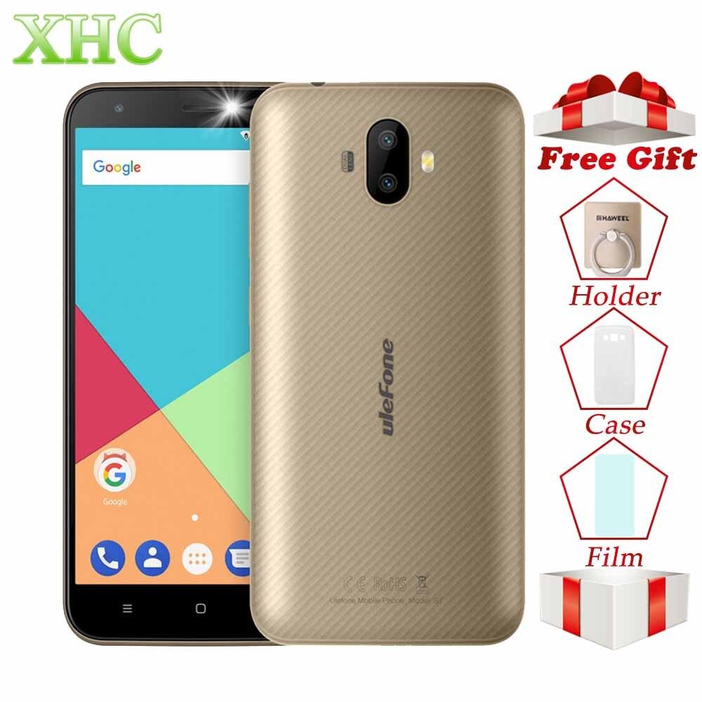 Ulefone S7 Pro 5.0'' Smartphones RAM 2GB ROM 16GB 13MP+5MP Cameras Android 7.0 MTK6580 Quad Core Dual SIM WCDMA 3G Mobile Phones