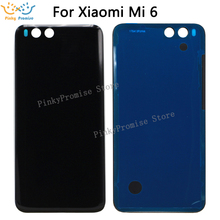 For XIAOMI Mi6 Glass Back Cover Replace Housing Mi6 Battery Cover Replacement Door For XIAOMI Mi 6 Battery Cover