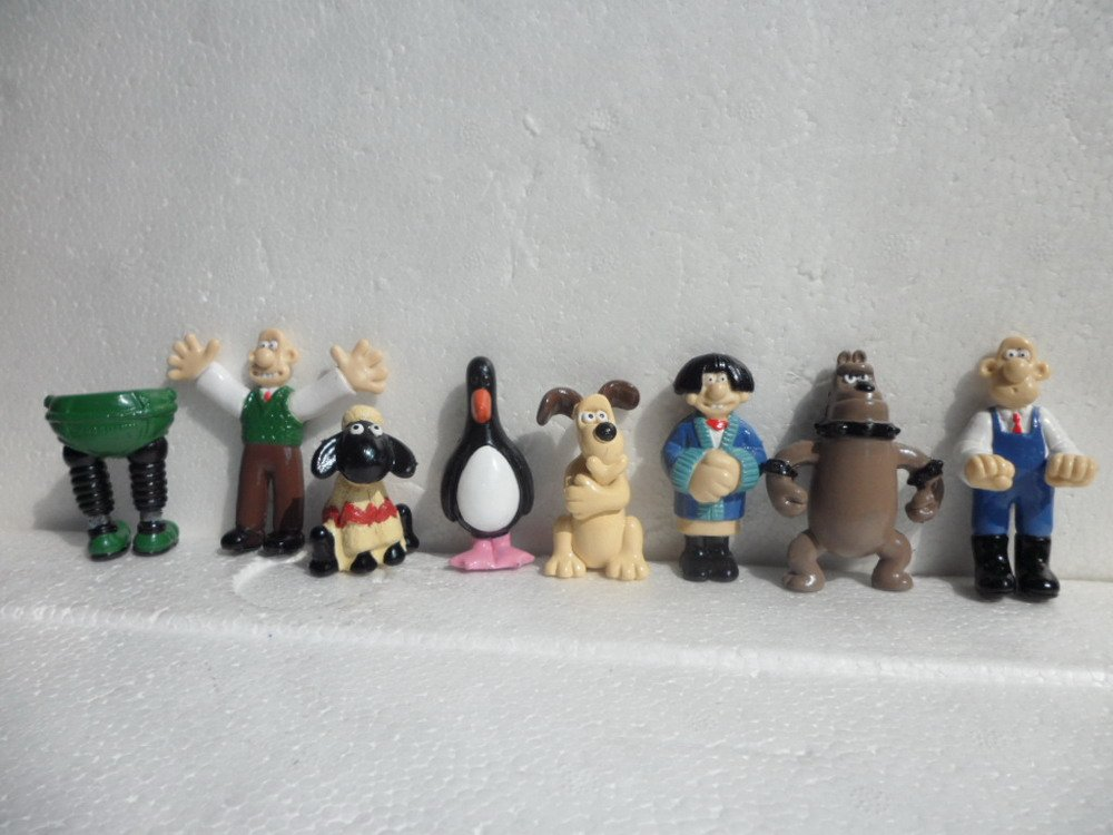 Wallace And Gromit Toys : Pcs quot wallace and gromit toys inches in model