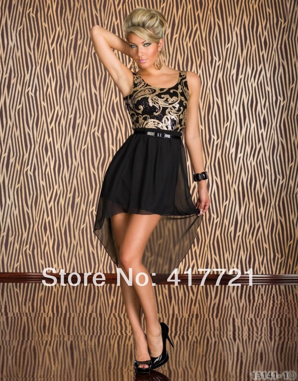 Popular Gold Chiffon Dresses-Buy Cheap Gold Chiffon Dresses lots ...