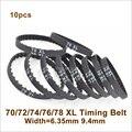 Ремень ГРМ POWGE 70/72/74/76/78 XL W = 025/037 мм по периметру 177,80/182,88/187,96/193,04/198,12 мм, резиновый ремень XL, трапециевидный