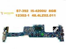 Original forACER S7-392 laptop motherboard S7-392 I5-4200U 8GB 12302-1 48.4LZ02.011 tested good free shipping