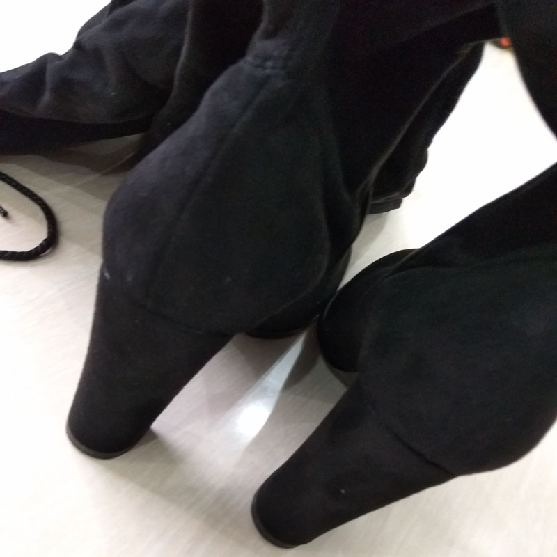 knie Herbst grau leather Sexy Frauen Hochhackigen Laijianjinxia rot the Der Dünne Neue wein 2018 Khaki schwarzes Mode Over Stiefel Motorradstiefel Winter qTx5wR0RF