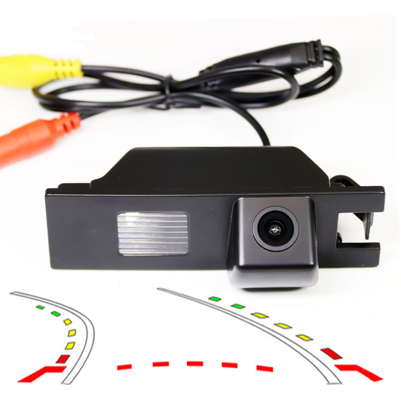 Dynamic Trajectory Tracks Car Rear View font b Parking b font Camera For OPEL Astra Corsa