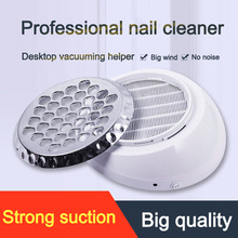 For Nails Rechargeable Nail Art Dust Cleaner Collector Strong Power Manicure Salon Nail Dust Collector Machine Nails Accessoires