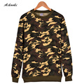 Camouflage Hoodie men/women Cotton Camouflage Series mens Hoodies and sweatshirts Depth/shallow Camouflage Color men Hoodie 4XL