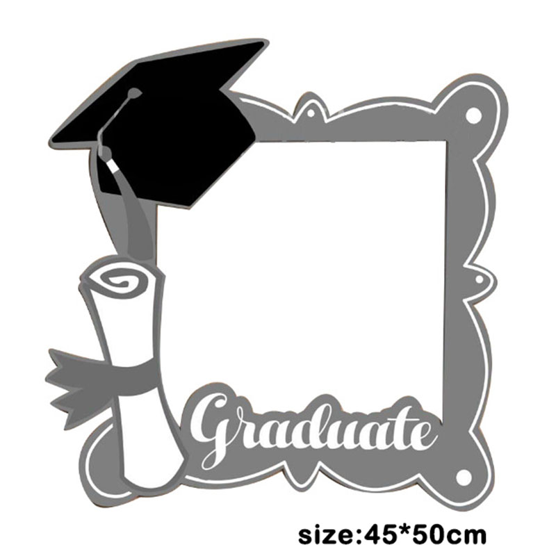 1pc Graduation Event Photo Booth Props /Class Of 2018 DIY Paper ...