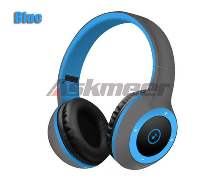 Askmeer T8 Wireless Bluetooth Headphone Foldable Stereo Earphone Headset Handsfree with Microphone Support TF Card Music Play (12)
