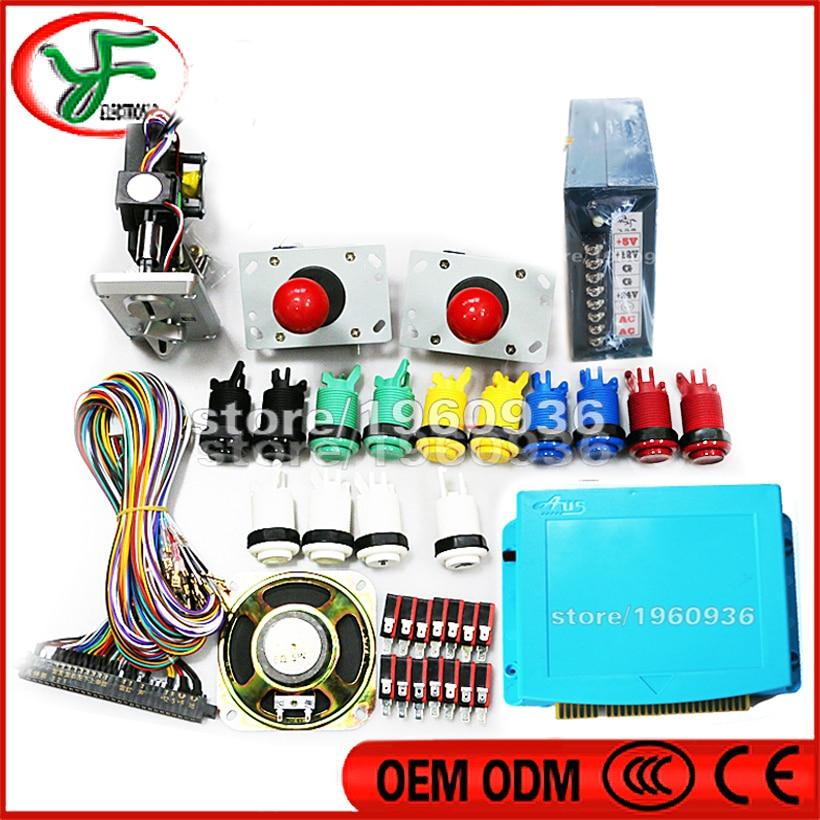 DIY Arcade Game Machine Cabinet Kit for Jamma 999 in 1 PCB ...