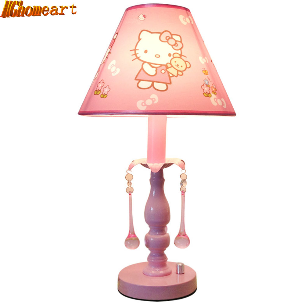 Variety of Cute Table Lamp Girl Bedroom Bedside Lamp Girl Cartoon Lamp Eye Protection Adjustable Learning Desk Lamp high quality adjustable height protection vision for children learning set of table and chair