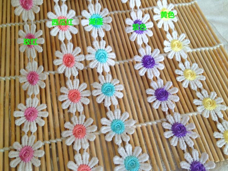 heart shapelace good quality 9cm 5yard / lot  DIY handmade material lace trim for garment YY921
