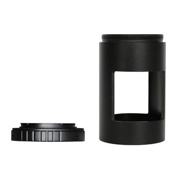 T Ring dla produktu firmy Olympus lustrzanka aparat fotograficzny Adapter + 23 2 24 5 31 7 42mm teleskopy powiększalniki Adapter rur tanie i dobre opinie Z6301 EYESKEY 23 2mm 24 5mm 31 7mm 42mm telescopes microscopes enlargers and bellows attachments