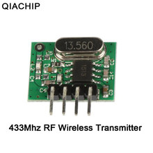 QIACHIP 433mhz RF Relay Wireless Transmitter Remote Control Switch Module Lamp Light LED Control For Smart Home Arduino UNO Kit(China)