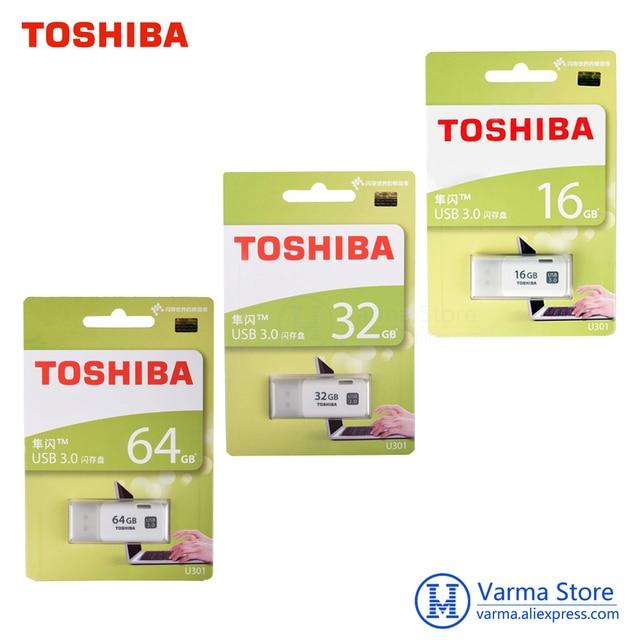 Toshiba USB flash drive 3.0 U301 pen drive USB3.0 16GB 32GB 64GB usb stick flash drives usb flash disk Transmemory memory drive
