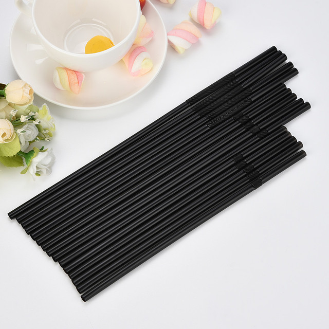 Flexible Long Drinking Straws