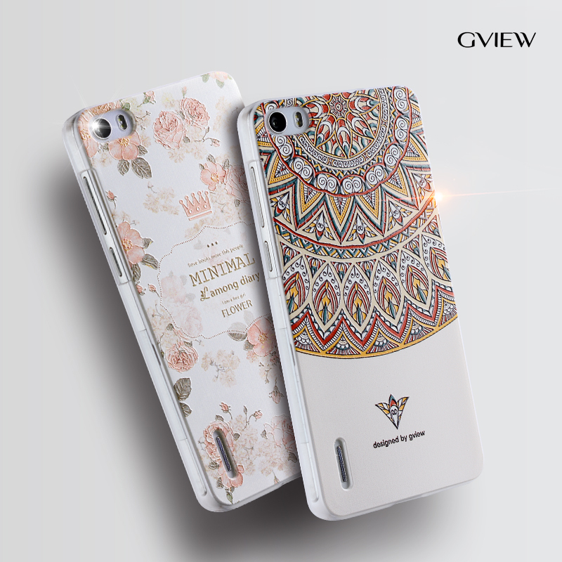 wholesale dealer 16f4d 2113e Gview huawei honor 6 phone case huawei honor6 Relief cartoon image ...