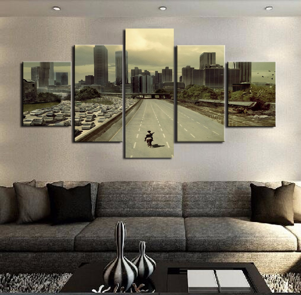 Modular pictures hd printed canvas frame painting home wall art photo decor 5 panels movie - Wall decor photography ...