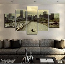 Wall Art Photo  Decor – Movie Walking Dead Landscape Poster