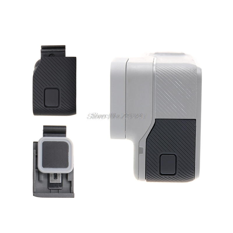 Front/Side Door USB-C Micro-HDMI Port Cover Protector For GoPro Hero 5/6 Repair Oct10 Drop Ship Electronics Stocks
