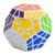 12-Side SHENGSHOU Megaminx Cubo Mágico Cubo Mágico Rompecabezas Bloques Cubo Desafío Educación Kids Regalos Juguetes 1327
