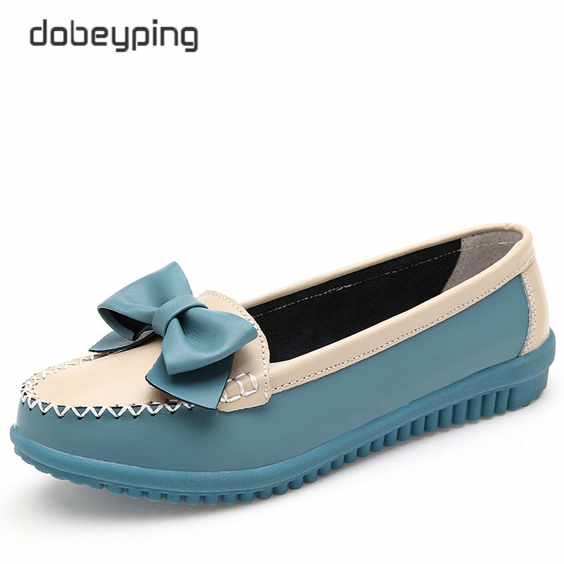Oxfords Shoes Women Cow Leather Women's Loafers Slip On Female Flats Shoe Lady Casual Driving Shoes Butterfly-knot Boat Footwear men cow split leather shoes casual loafers soft and comfortable oxfords non slip flats luxury brand designer shoe zapatos hombre