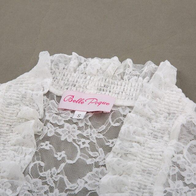 2018 Fashion Lace Bolero Womens Elegant Shrug Long Sleeve Sexy Black Wedding Evening Prom Cropped Shrugs Open Stitch Basic Coat 4