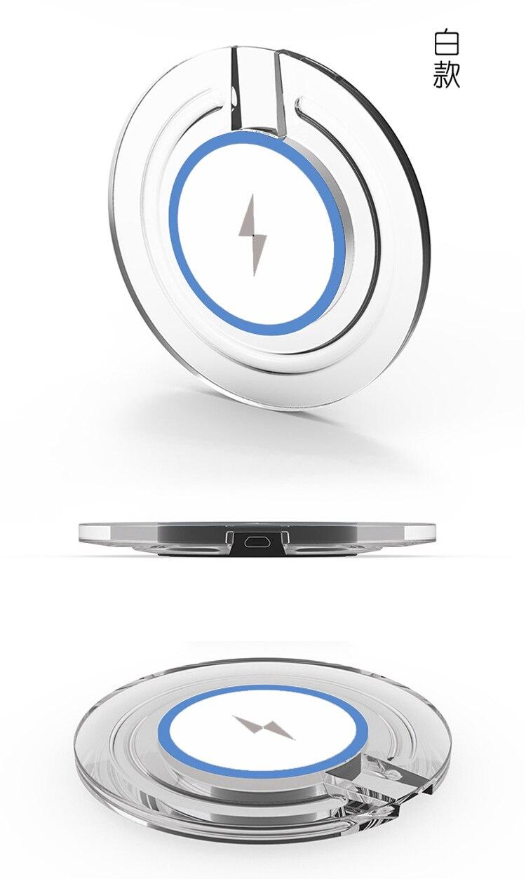 Deuxième Génération Qi Sans Fil Chargeur Pad + Récepteur Pour Samsung Galaxy S8 S7 6 bord note 8 7 De Charge Kit pour iphoneX 8 7 6 plus