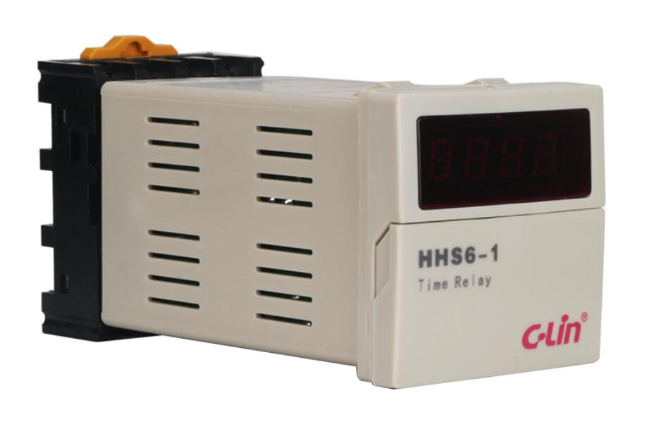 Yan Ling HHS6-1 digital time relay JSS48A-1Z, DH48S improved AC220V time relay h5cn xbn z