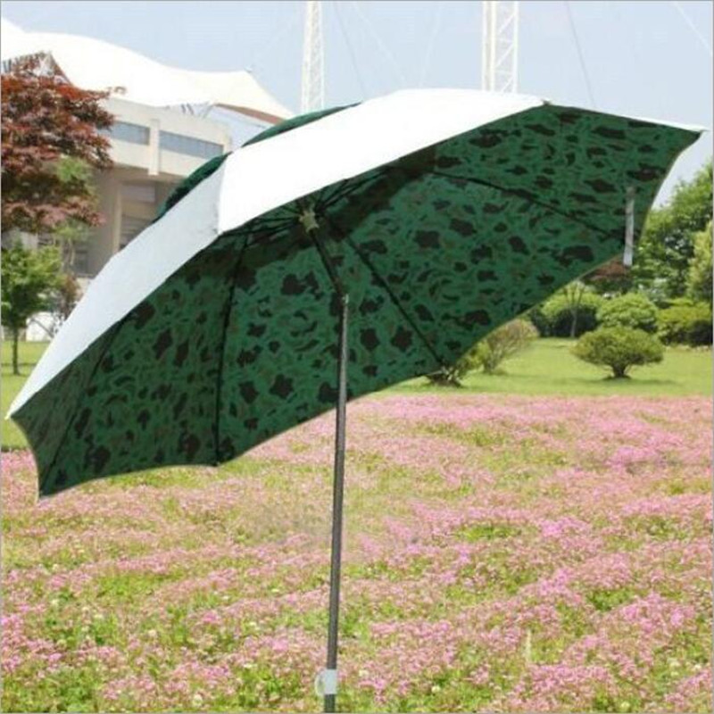 Hot Sale Outdoor Leisure Folding Anti-UV Fishing Umbrella Best Gift For Man Beach Umbrella