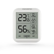 цена на Inkbird ITH-20 High Accuracy Digital Thermometer Hygrometer Indoor Electronic Weather Station Temperature Humidity Gauge Monitor