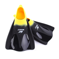 C371 high quality Adult swimming diving fins flippers snorkeling fins diving equipment Men and women Multi color optional