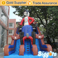Free Shipping By Sea Inflatable Kids Bouncy Castle Jumping Slide With Blower And Repair Kit For Fun
