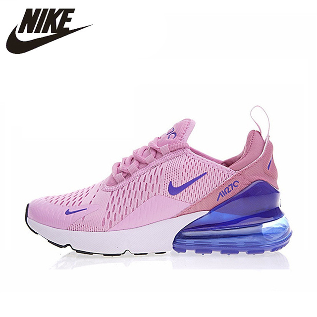 on sale 96260 07754 US $72.02 30% OFF Nike Air Max 270 Women's Breathable Running Shoes  Sneakers Sport Outdoor Athletic 2018 New Women Designer Sneakers AH8050-in  Running ...