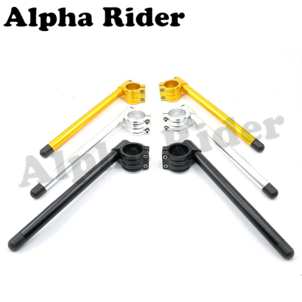 Prix pour Alpha Rider CNC Racer 32 MM 33 MM 35 MM 36 MM 37 MM 39 MM 41 MM 43 MM 45 MM 48 MM 50 MM 51 MM 52 MM 55 MM Clip Ons Clipon Fourche Guidon Levier