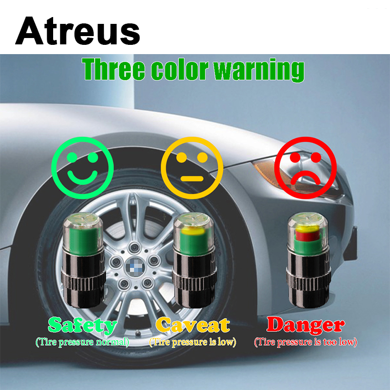 4X Car-styling Car Tire Pressure monitoring valve cap Wheel Air Cover Tight Rims For Opel Astra H J G Insignia Mokka Corsa D rice cooker parts steam pressure release valve